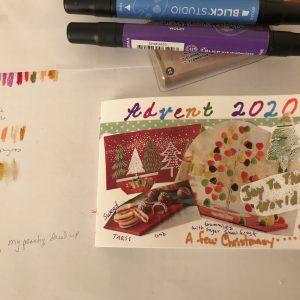Advent Art Journal Project